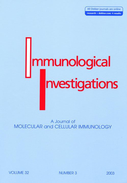 国际免疫学杂志